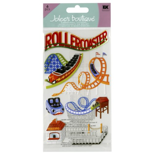 (Jolee's Boutique Roller Coasters Dimensional Stickers)