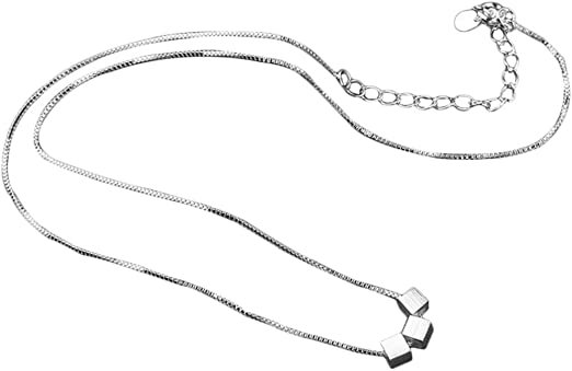 fablcrew Fashion 3 caja colgante collar clavícula cadena para ...