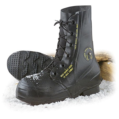 Combat Boot,Mickey Mouse Extreme Cold Weather Boots, Waterproof Rubber, Genuine U.S. Military Issue - stylishcombatboots.com