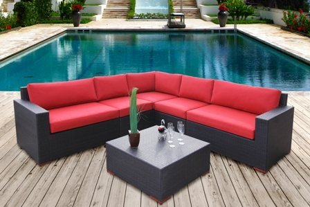 Bali 6 Piece Conversation Sectional Seating Set price