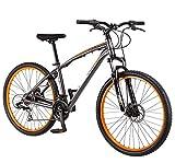 Oanon High Carbon Steel Frame 21-Speed Bike Mountain Bike 27.5 inch wheels for Men Women Adults
