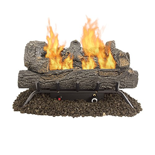 vent free gas logs with remote - 6