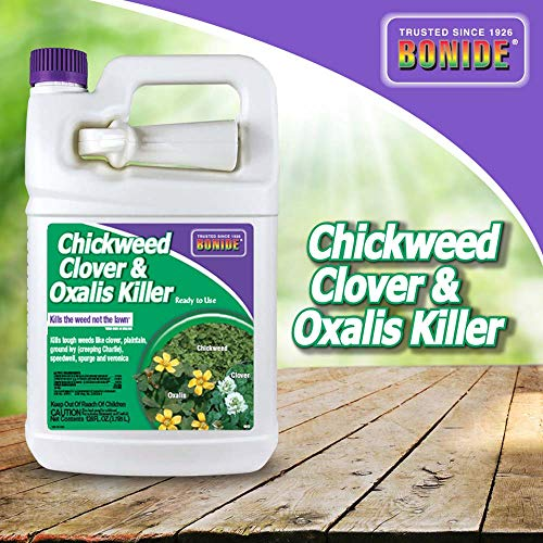 Bonide (BND0613) - Ready to Use Chickweed, Clover and Oxalis Weed Killer (1 gal.)