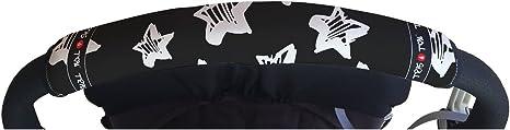 Opinión sobre Tris&Ton Fundas empuñaduras horizontales Modelo Estrellas, empuñadura funda para silla de paseo cochecito carrito carro (Tris y Ton)