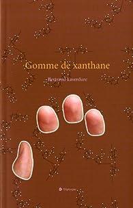 Gomme de xanthane par Bertrand Laverdure