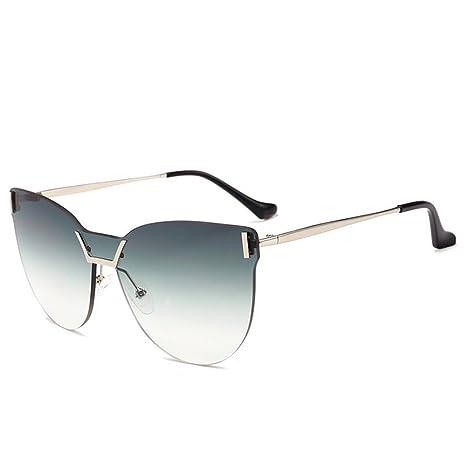 Gafas de sol clásicas para mujer Lente de color gradual Ojos ...