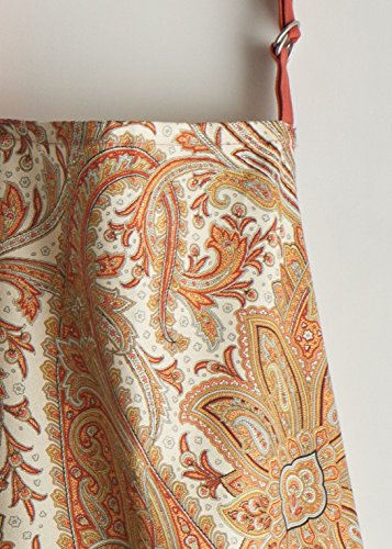 Maison d' Hermine Kashmir Paisley 100% Cotton Apron with an adjustable neck & hidden center pocket, 27.50 - inch by 31.50 - inch by Maison d' Hermine (Image #6)