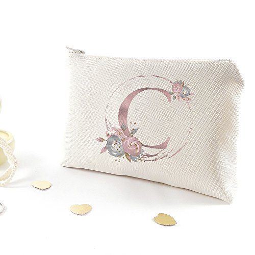 Customized bridesmaid bag - Bachelorette party gift (Letter C)