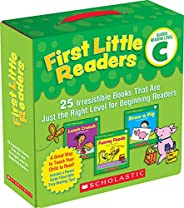 First Little Readers Parent Pack: Guided Reading Level C: 25 Irresistible Books That Are Just the Right Level