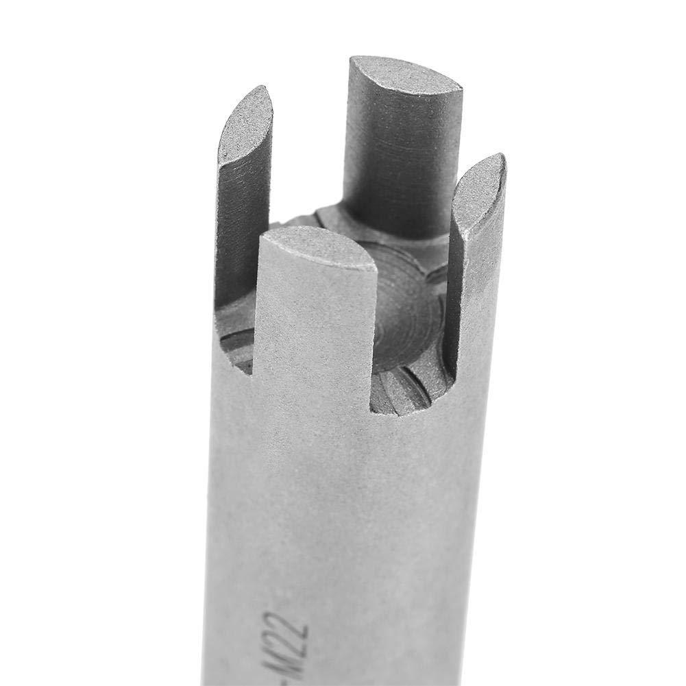 Tap Extractor 4 Flute Broken Head Screw Remover Set f/ür Stahlarmaturen 3 Arten