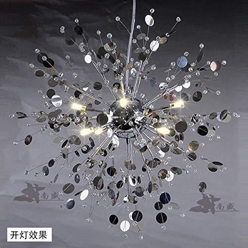 FidgetGear Modern Creative Crystal Dandelion LED Chandelier Pendant Lamp Ceiling Lights White 8 LED / 24W by FidgetGear (Image #4)