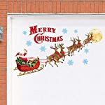 Collections Etc Santa's Sleigh Garage Magnets