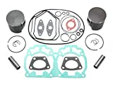 2003 SKI-DOO MXZ REV 600 HO SPORT TOP END REBUILD KIT INCLUDES PISTONS, GASKETS, WRIST PIN BEARINGS STANDARD STOCK BORE 72mm
