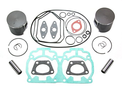 2003 SKI-DOO MXZ REV 600 HO SPORT TOP END REBUILD KIT INCLUDES PISTONS, GASKETS, WRIST PIN BEARINGS STANDARD STOCK BORE 72mm by E&I