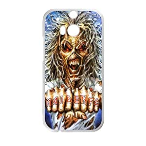 DIY Stylish Printing Iron Maiden Cover Custom Case For HTC One M8 MK1W572223