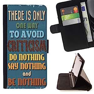 Dragon Case - FOR Samsung Galaxy S6 - it is nothing - Caja de la carpeta del caso en folio de cuero del tir¨®n de la cubierta protectora Shell