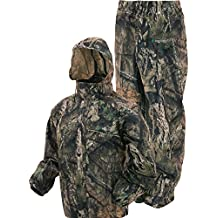 Frogg Toggs AS1310-623X All Sports Camo Rain & Wind Suit, Mossy Oak Break-up Country