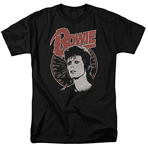 David Bowie - Space Oddity - Adult T-Shirt - Small (David Bowie Best Of Rar)