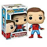 Spider-Man Homeade Suit Figure & Homecoming Blu-Ray + DVD Movie Bundle Funko #223 Exclusive set