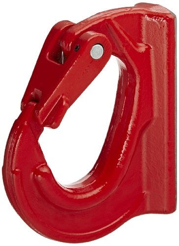5 Ton Hook (Indusco 47401405 Alloy Steel Weld On Hook, Painted Finish, 5 Ton Working Load Limit)