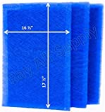 RayAir Supply 18x20 Dynamic Air Cleaner Replacement Filter Pads 18 x 20 Refills (3 Pack)