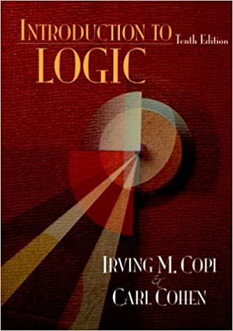 Amazon introduction to logic 10th edition 9780132425872 amazon introduction to logic 10th edition 9780132425872 irving m copi carl cohen books fandeluxe Gallery