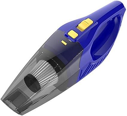 Aspirador De Coche Sin Cable Aspirador De Coche Mano Vaccums Aspiradora portátil de mano Aspiradora de coche recargable sin cable Mano de vacío Blue,one size: Amazon.es: Coche y moto