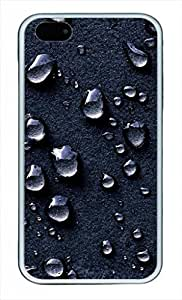 iCustomonline Luxury Waterdrop Designed Case for iPhone 4 4S TPU Material White by runtopwell