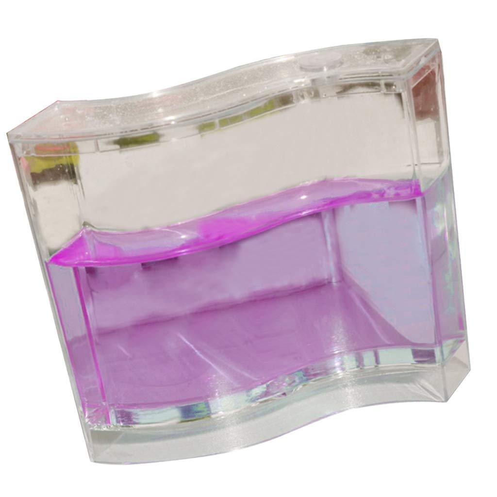 Homyl Fourmi Jouet Maison Transparente 3D Blanc 13x3x10.8cm Tunnel Soci/ét/é