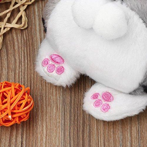 Purse Cute Change Butt Purse Bag Coin Cat Plush Multicoloured JESPER Multicoloured Tail fxq11w