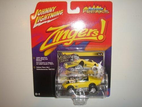 2005 Johnny Lightning Street Freaks Zingers '72 Corvette Gelb  50 by Unknown