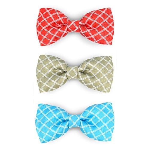 Martha Stewart Bow Tie Pet Collar Accessory Set, One Size