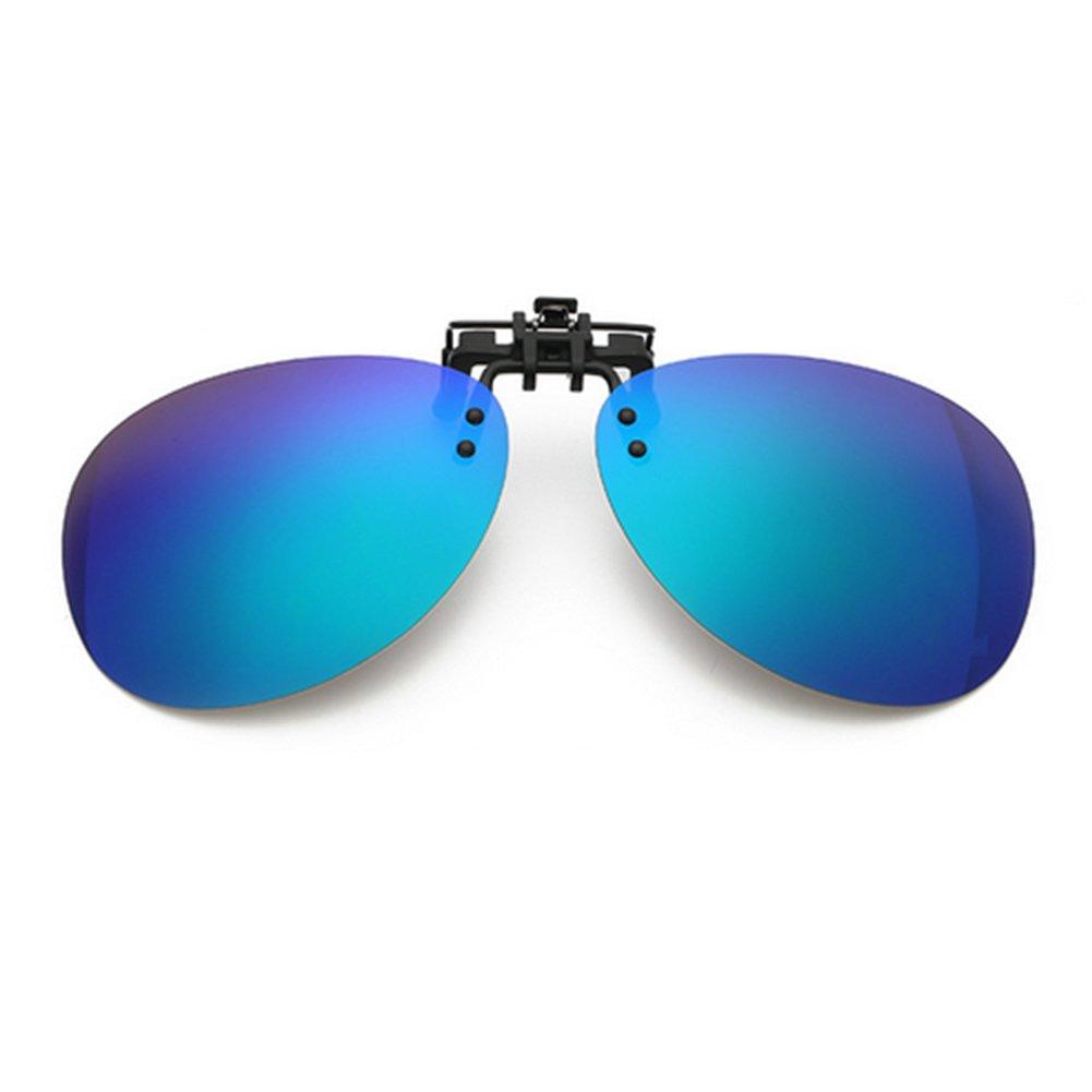 Anti-Glare Fahren // Angeln Brillen Meijunter Polarisiert verspiegelten Sonnenbrillen Clip-On Korrekturbrillen UV-Schutz