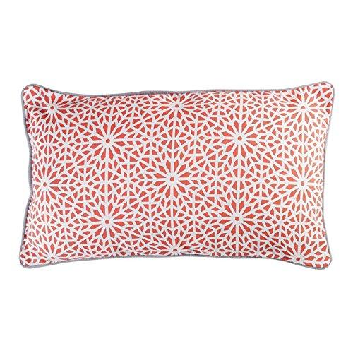 Paris Prix - Cojín Decorativo Túnez 30 x 50 cm, Color Coral ...