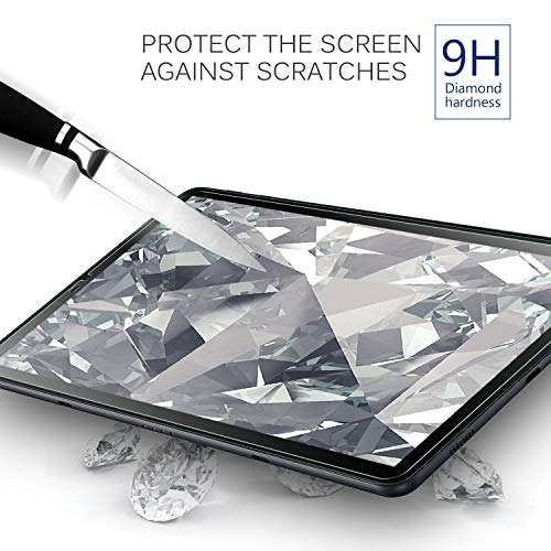 IVSO Samsung Galaxy Tab S4 10.5 Tablet Screen Protector Tempered-Glass HD Clear Scratch Resistant for Samsung Galaxy Tab S4 SM-T830 Wi-Fi & SM-T835 4G LTE 10.5-inch 2018 Release Tablet by IVSO (Image #2)