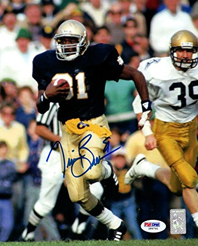 (Tim Brown Signed Photo - 8x10#Z86791 - PSA/DNA Certified - Autographed College Photos)
