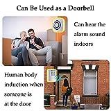 WJLING Motion Sensor Alarm System, Wireless Home