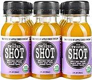The Twisted Shot | Organic Apple Cider Vinegar Shots with Turmeric, Ginger, Cinnamon, Honey & Cayenne | Im