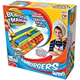 """Fotorama Burger Mania Game Fast Pace Build a Burger Conveyor Fast Food Time Game Thrill Competition, 3.1"""" x 10.6"""" x 10.6"""", Model:3058-9906"""