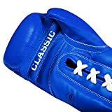 Title Classic Leather Lace Training Gloves