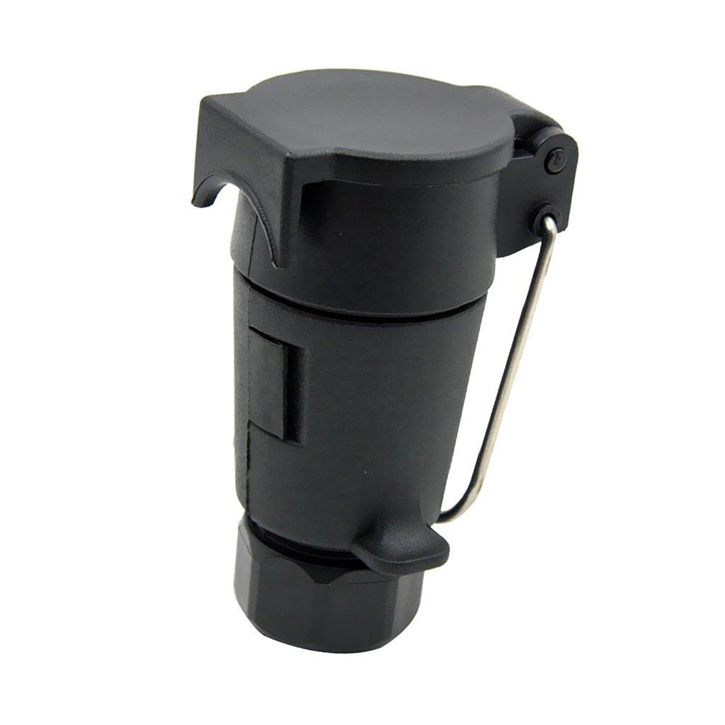 MagiDeal 12V 7 Pin Towing Plug N Type Trailer Caravan Tow Bar Connector Adapter