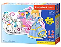 "Castorland ""Princess Carriage"" Puzzle (12 Piece)"