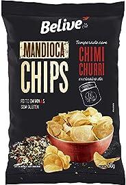 Mandioca Chips Belive temperado com Chimichurri BR Spices - 50g