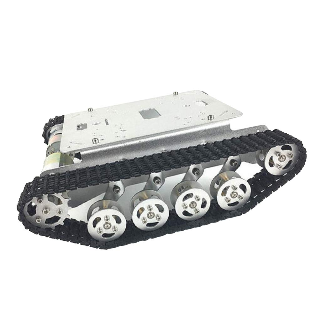 Perfeclan Gold / Schwarz / Silber Chassis-Metallhalterung Chassis-Metallhalterung Chassis-Metallhalterung Absorptionsroboter Panzerwagen-Chassis 813ebe