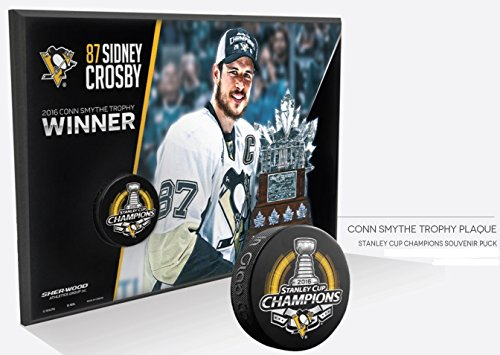 Conn Smythe Trophy - 2016 Pittsburgh Penguins Stanley Cup Sidney Crosby CONN SMYTHE TROPHY WINNER Wall Plaque