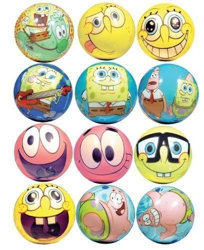 - Spongebob Squarepants Party Favors - Soft FoamGraphic balls Lot of 20