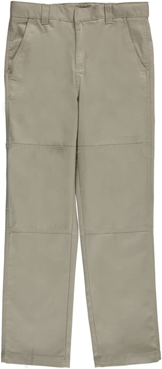 12 Khaki French Toast Big Boys Paneled Cell-Pocket Straight Fit Pants