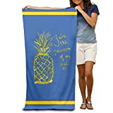 GHEDPO Bath Towel You Are The Pineapple Of My Eye Adults Cotton 31'' X 51''