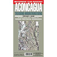 Aconcagua Map: Trekking & Mountaineering