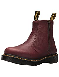 Dr. Martens Women's 2976 with Zips in Grizzly (Bovine) Leather Fashion Boot